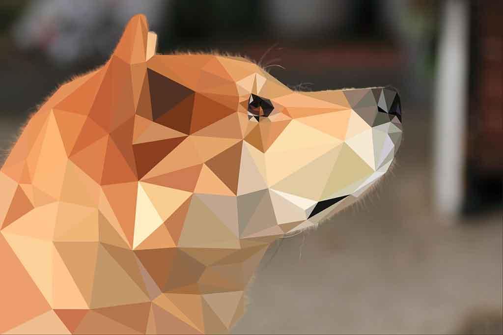 ポリゴン犬4