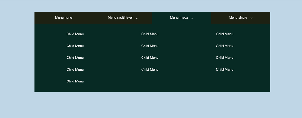 drop-down-menu-multi-css-mega
