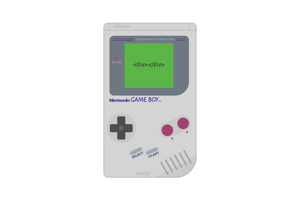 catch-css-one-div-gameboy